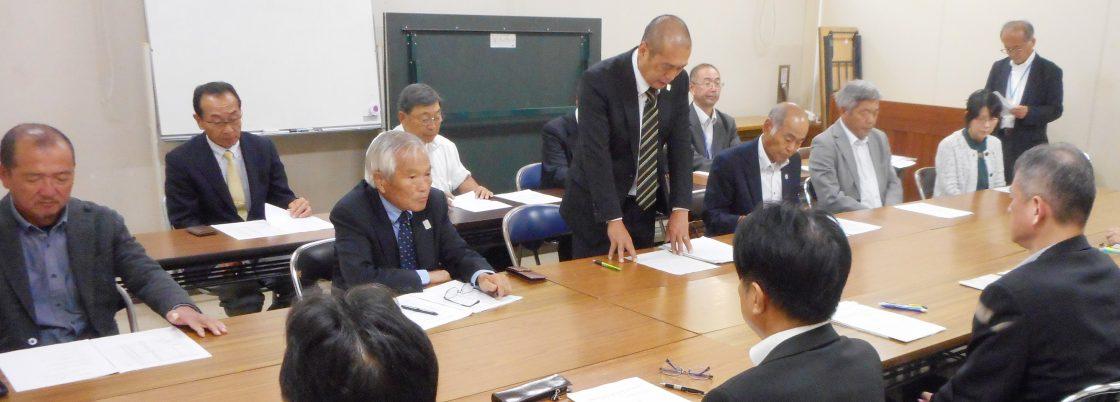 高知県農業振興部への意見の提出の様子
